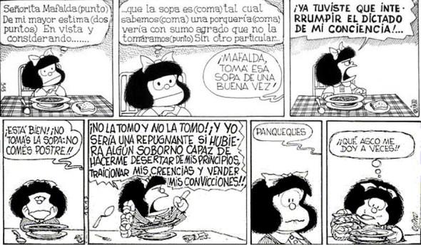 mafalda y la sopa ^^
