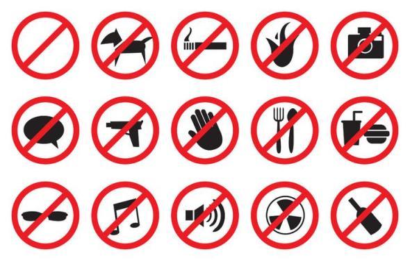 señalesprohibidoprohibicion